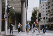 workers in the CBD